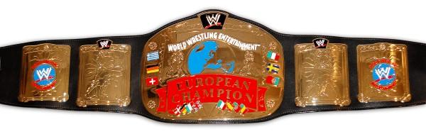 WWE / WWF EUROPEAN ERWACHSENEN GÜRTEL