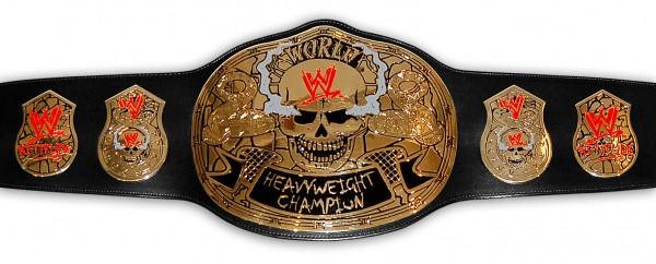 WWE / WWF STONE COLD SMOKING SKULL ERWACHSENEN GÜRTEL